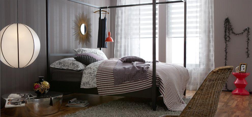 Ruhige Stunden Schoner Wohnen Farbe Schlafzimmer Wandfarbe