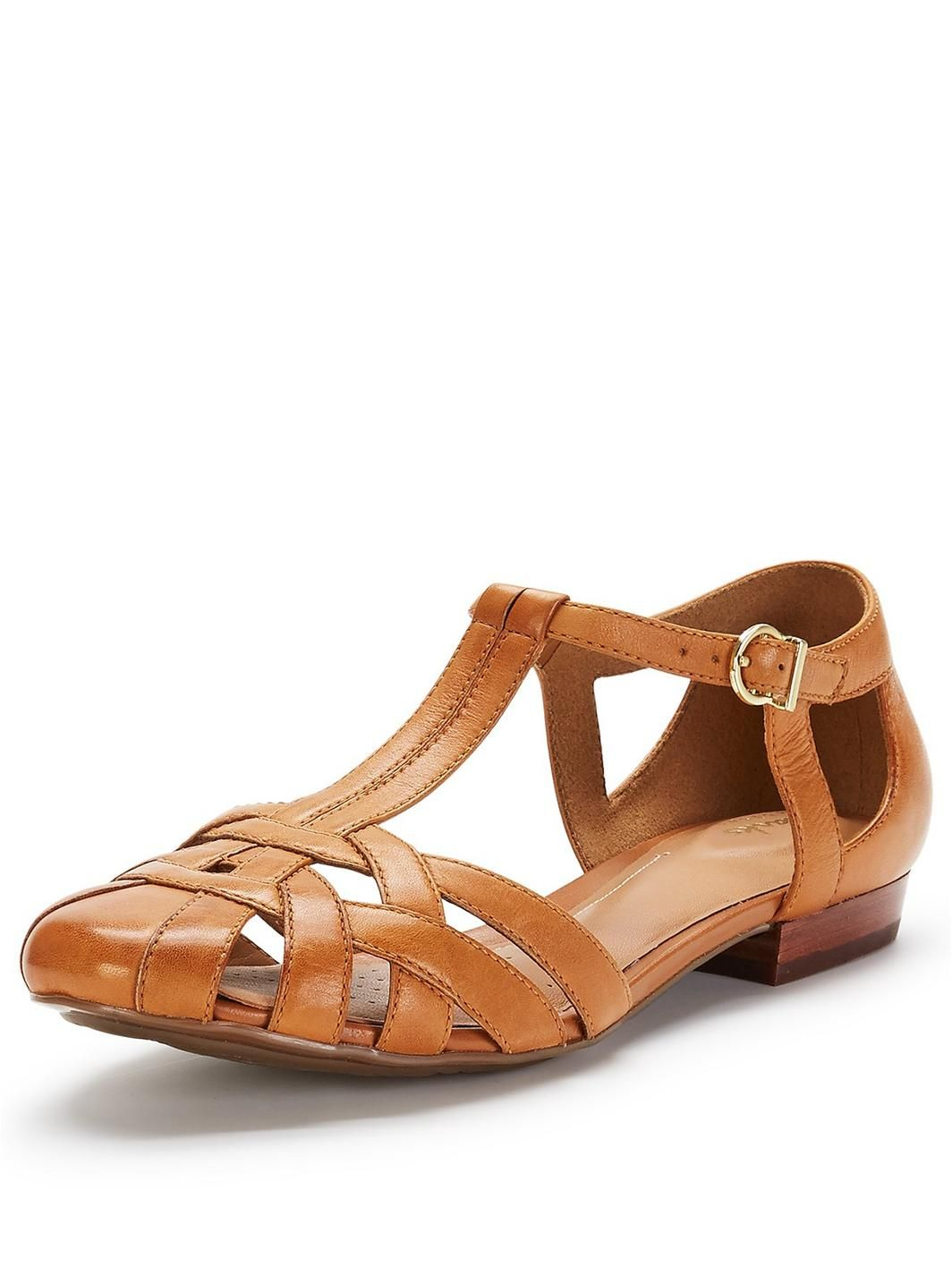 Clarks closed toe and heel sandals - great for orthotic wearers. €64.00