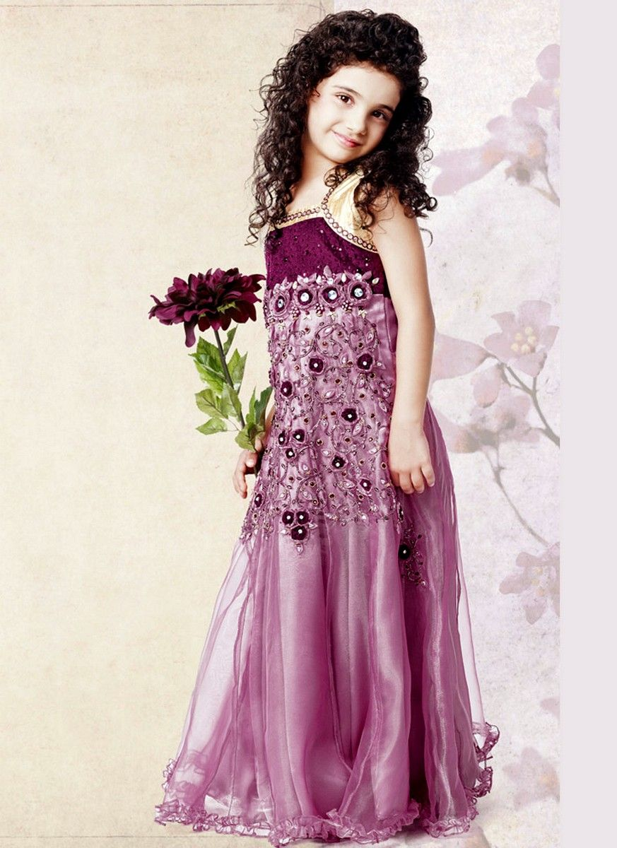 1 purple color wedding wear dress for kid 2014g 8731200 1 purple color wedding wear dress for kid ombrellifo Image collections