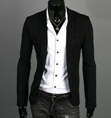 Men's Casual Blazer Suit Jacket - 8 Colors | Casual blazer, Blazer ...