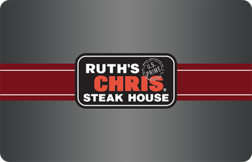 Coupons GiftCards Ruths Chris Steak House 50 Gift Card No Expiration Date