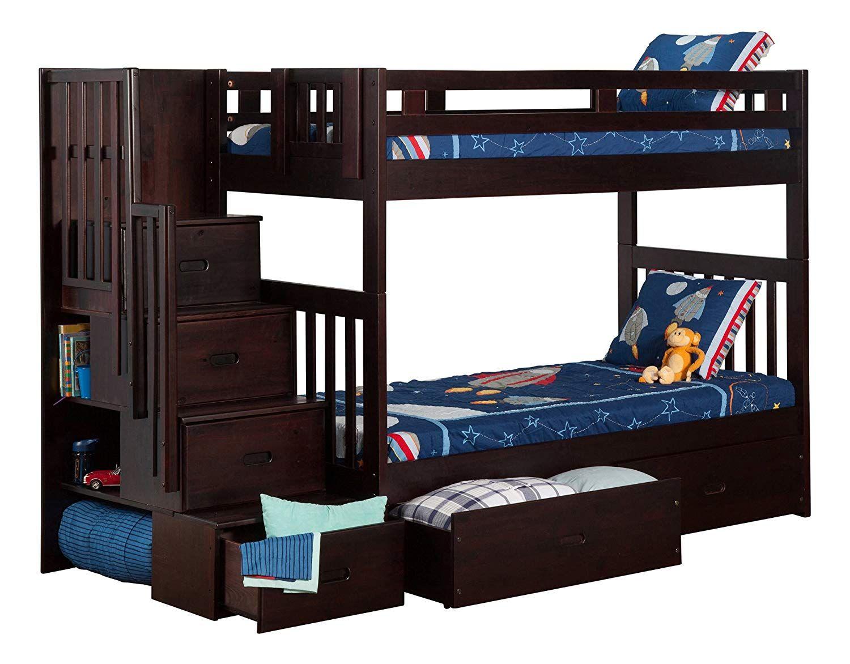 Etagenbett Hochbett Aus Metall : Hochbett mit schubladen bett bunk beds with drawers staircase