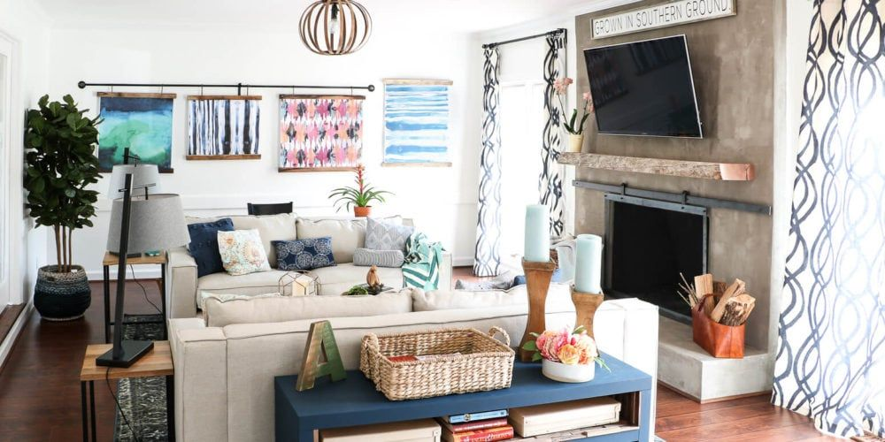 Kid-Friendly Family Room Design! images