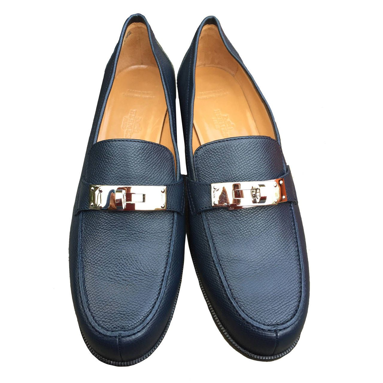 d214b4f9ff2 Hermes Loafer with Kelly Lock Details New in Box 9