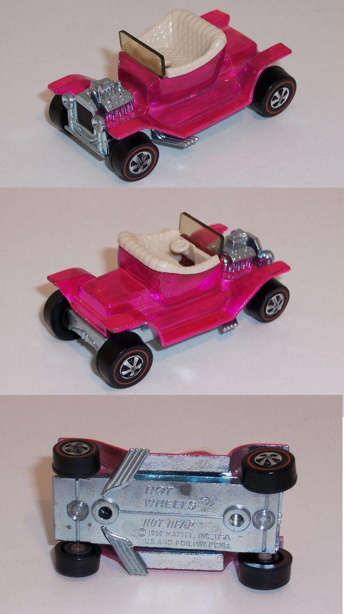 1968 Hot Heap US Hot Pink Vintage hot wheels, Hot wheels