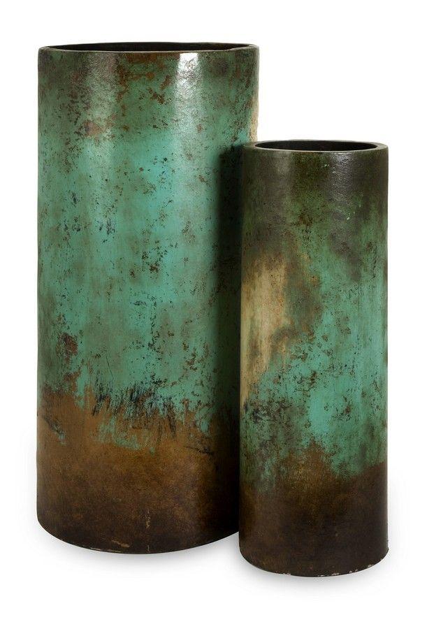 Mazatlan Floor Vases Set Of 2 Imax For The Home Pinterest