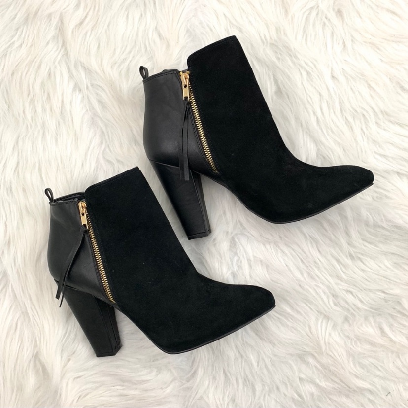 ea45070202a Steve Madden Shoes   Steve Madden Jannyce Suede Leather Ankle Boots ...