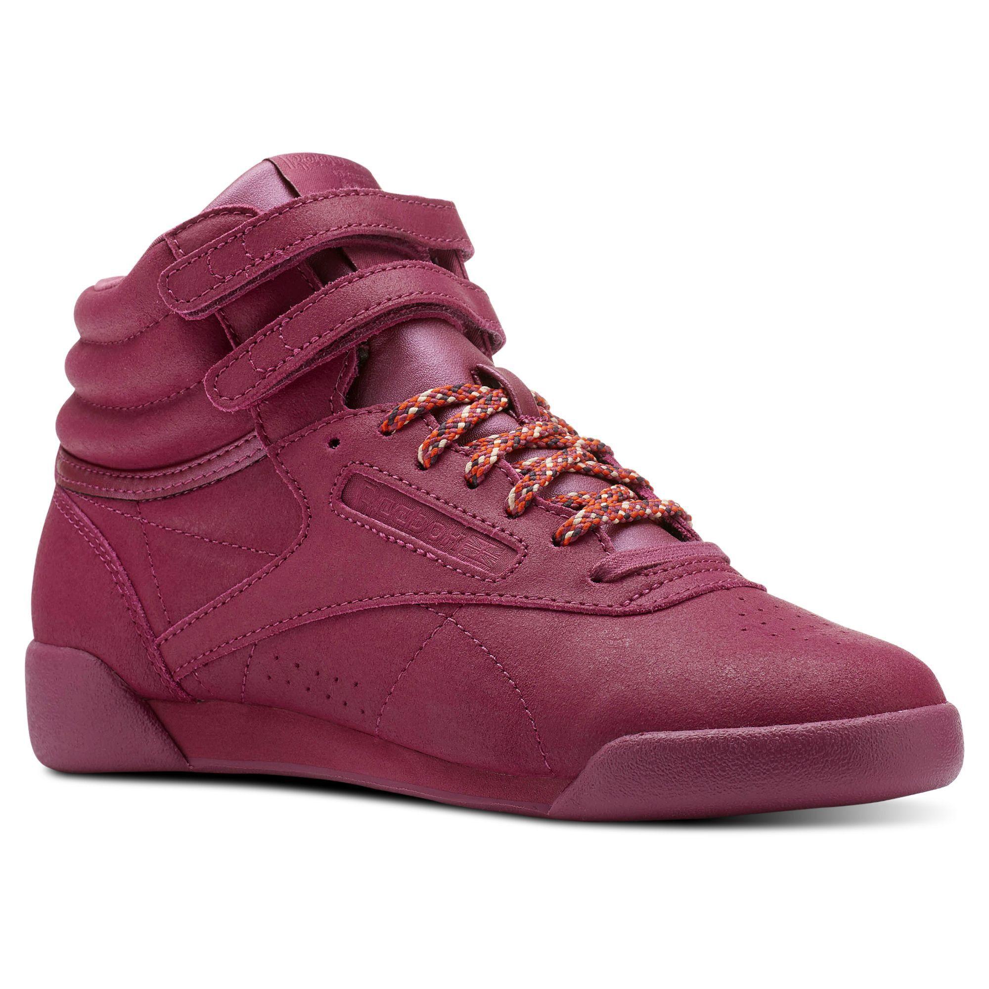 Reebok Freestyle Hi 6 5 Reebok Freestyle Girls Shoes Girls Shoes Kids