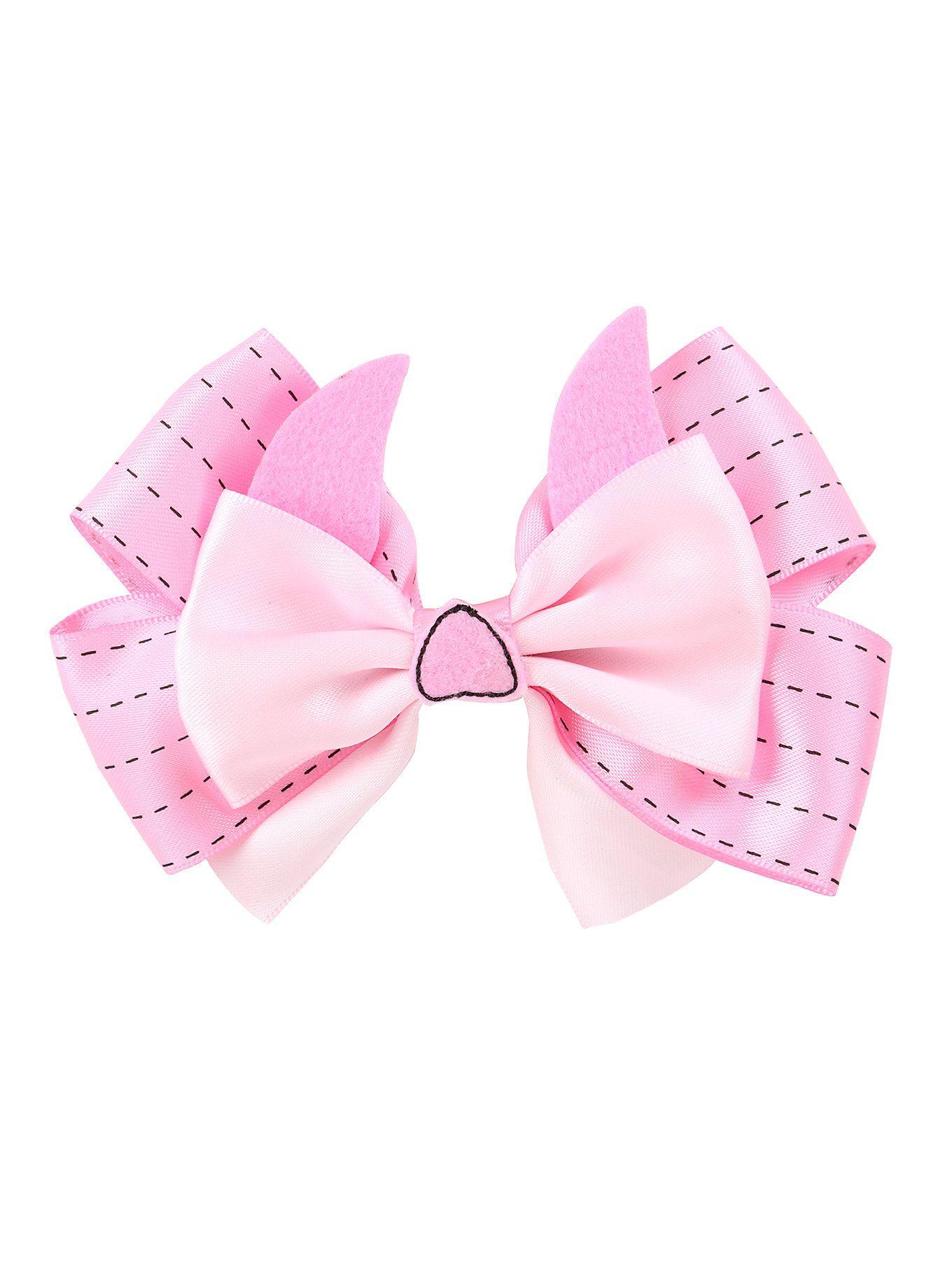 Disney Piglet Inspired Hair Bow