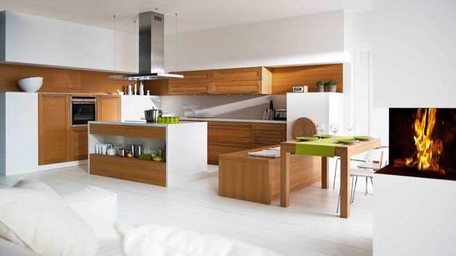 Scandinave Idées pour la maison Pinterest Ilot, Division et Bancs - deco maison cuisine ouverte