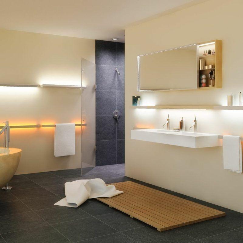 Moderne Badezimmer Fliesen Beige