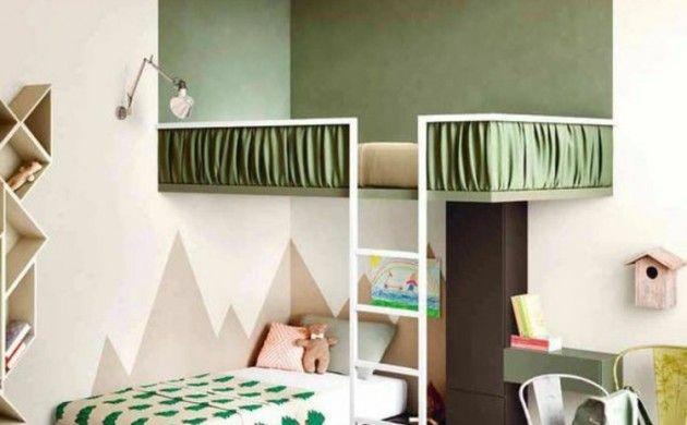 Kinderzimmer Ideen Bilder für Kinderzimmer Farbe Grün | Haus ...