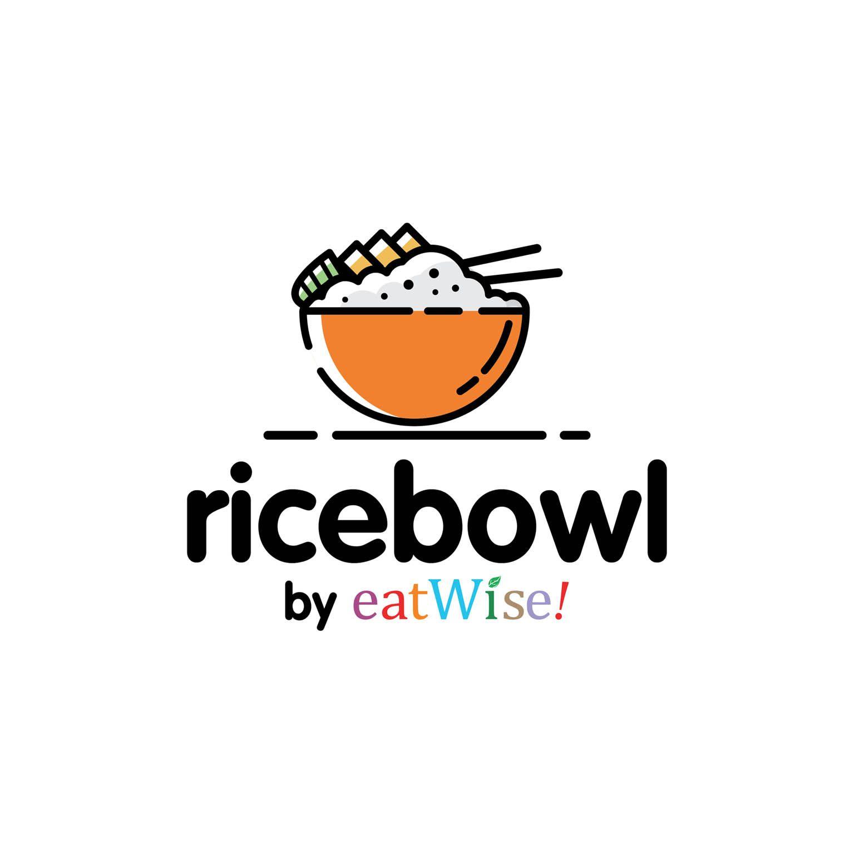 Rice Bowl Brand Client Eatwise Years 2018 Desain Logo Makanan Logo Restaurant Desain Logo Toko Roti