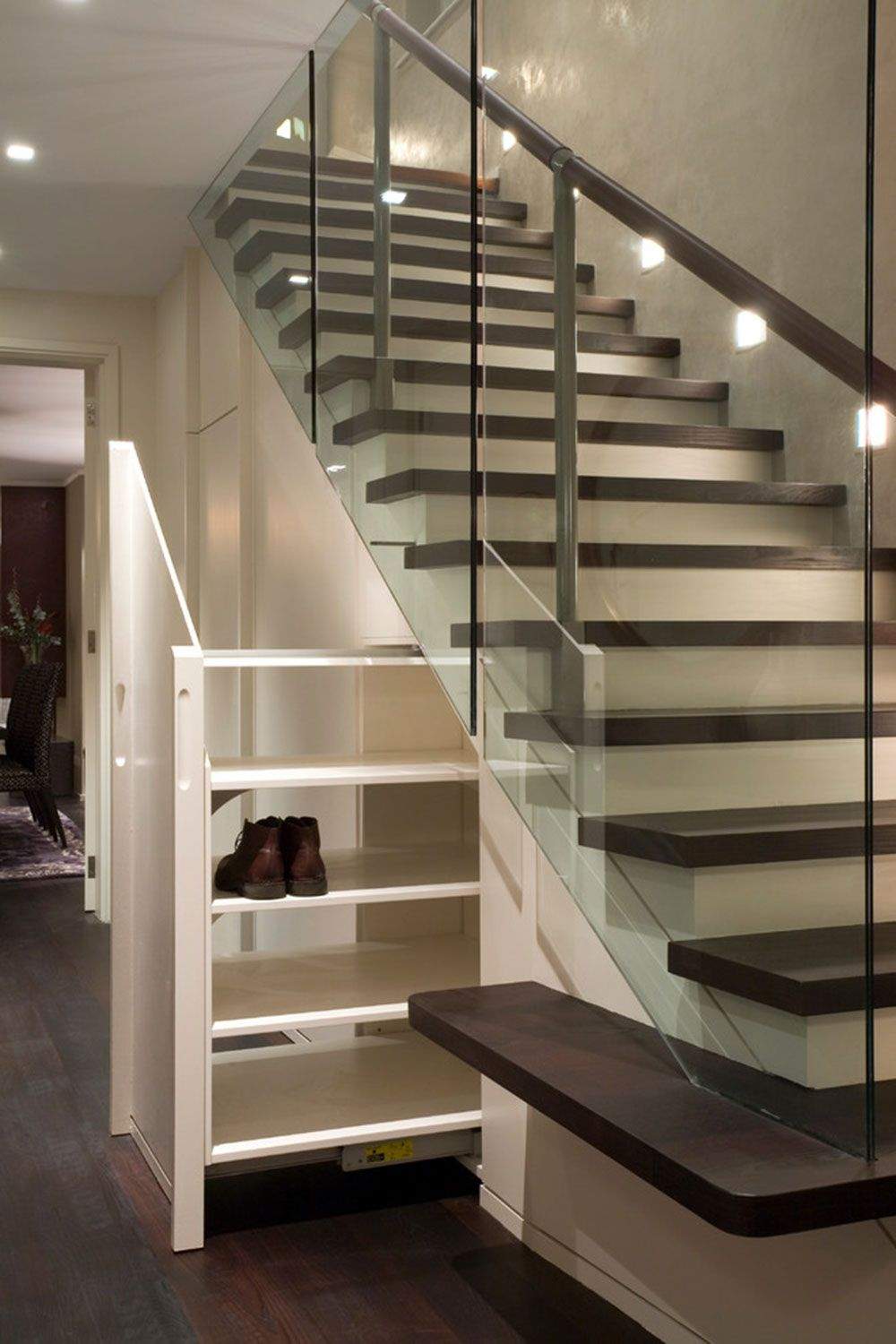 Shoe Storage Ideas For Better Organizing Staircase Design