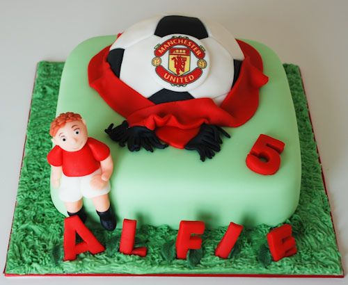 Birthday Cakes Ideas For My Husband ~ Manchester united birthday cake all about manchester united