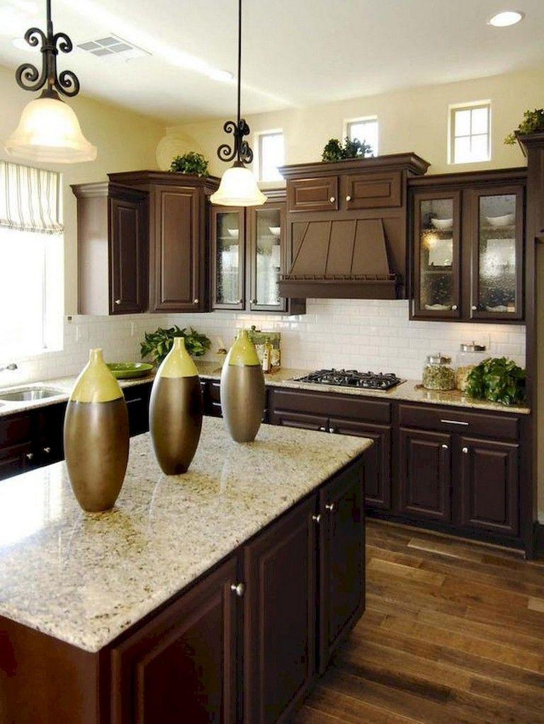 92 amazing kitchen backsplash dark cabinets  backsplash