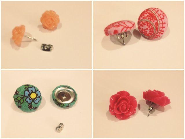 Simple Studs Make Your Own Earring Sets Diy Earrings