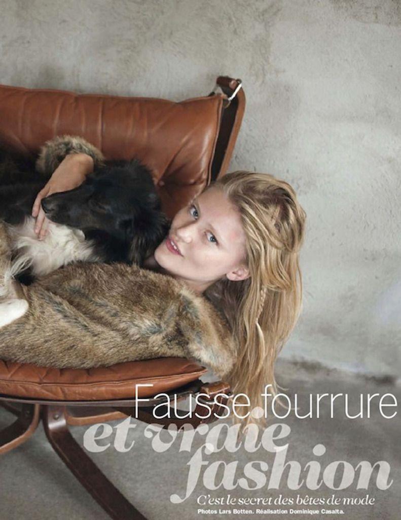Fause Fourrure-Cosmopolitan France December 2012