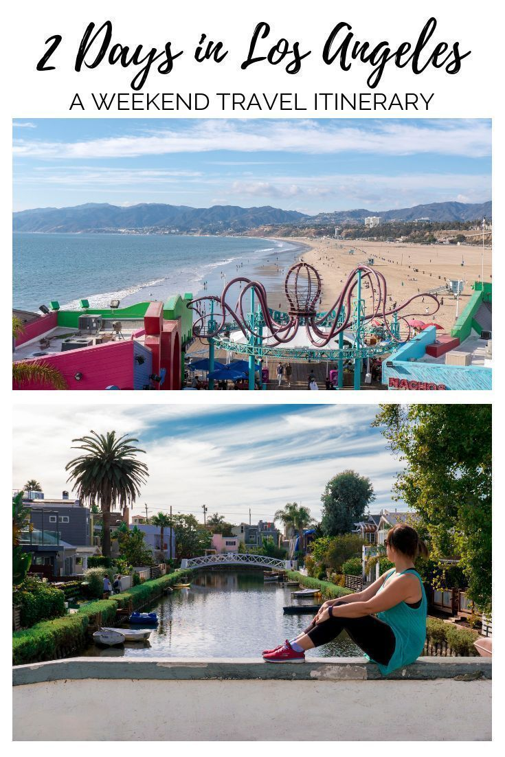 2 days in los angeles itinerary for first timers with