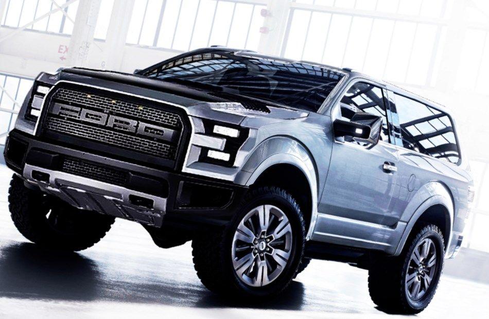2017 Ford Bronco Interior Price Review Dengan Gambar Mobil