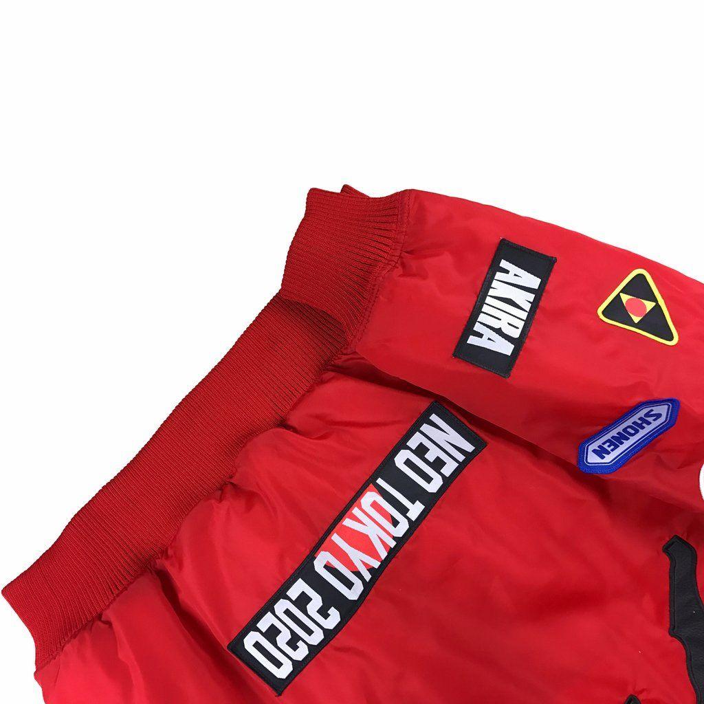 Akira Red Bomber Jacket Pre Order Red Bomber Jacket Bomber Jacket Akira [ 1024 x 1024 Pixel ]