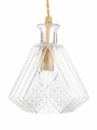 La Crystal - Driehoekige whiskey-lamp