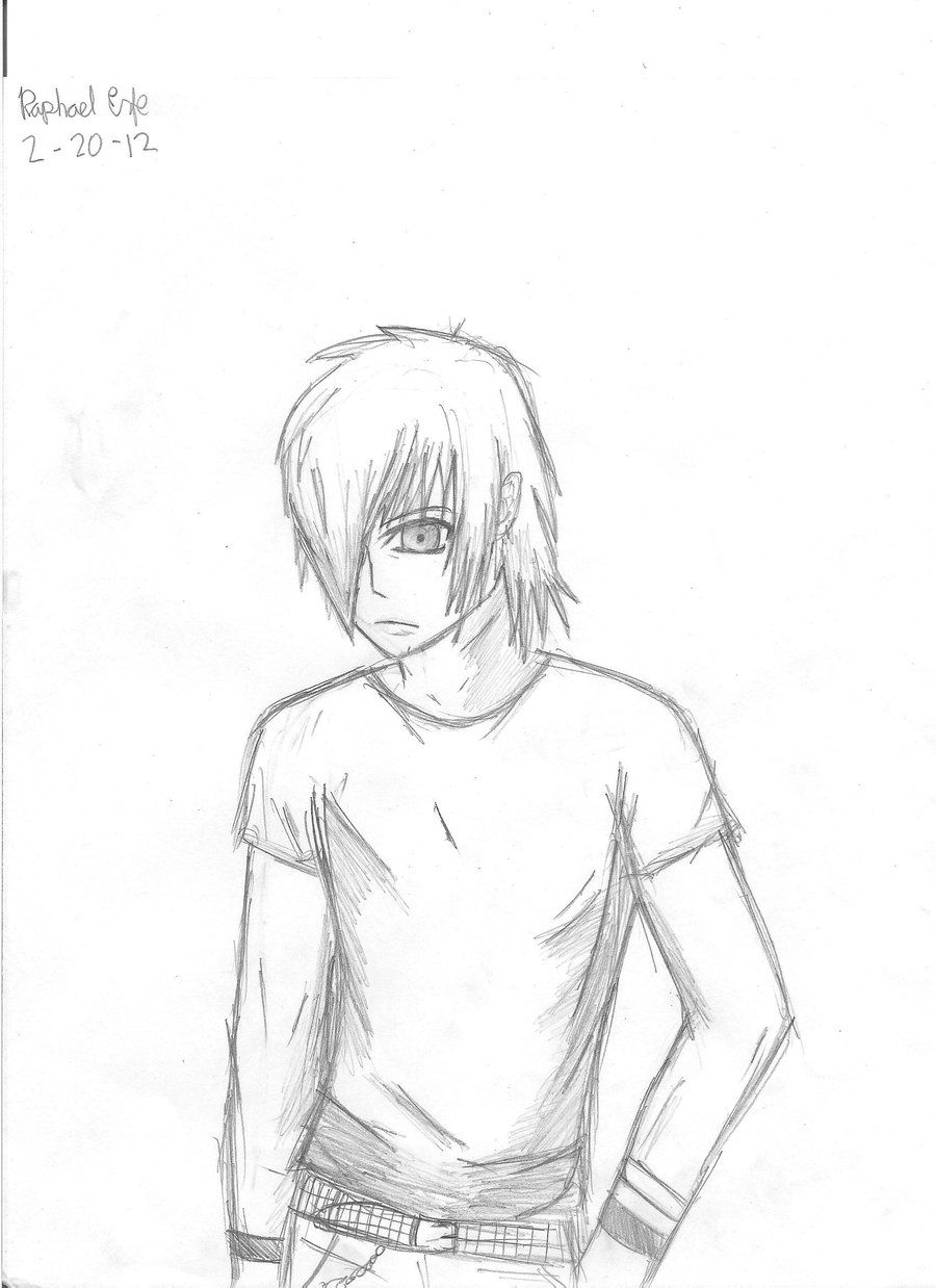 Confidential Emo Boy Coloring Pages Love Drawing At Getdrawings Emo Boy Sketch Anime Drawings Boy Manga Coloring Book Anime