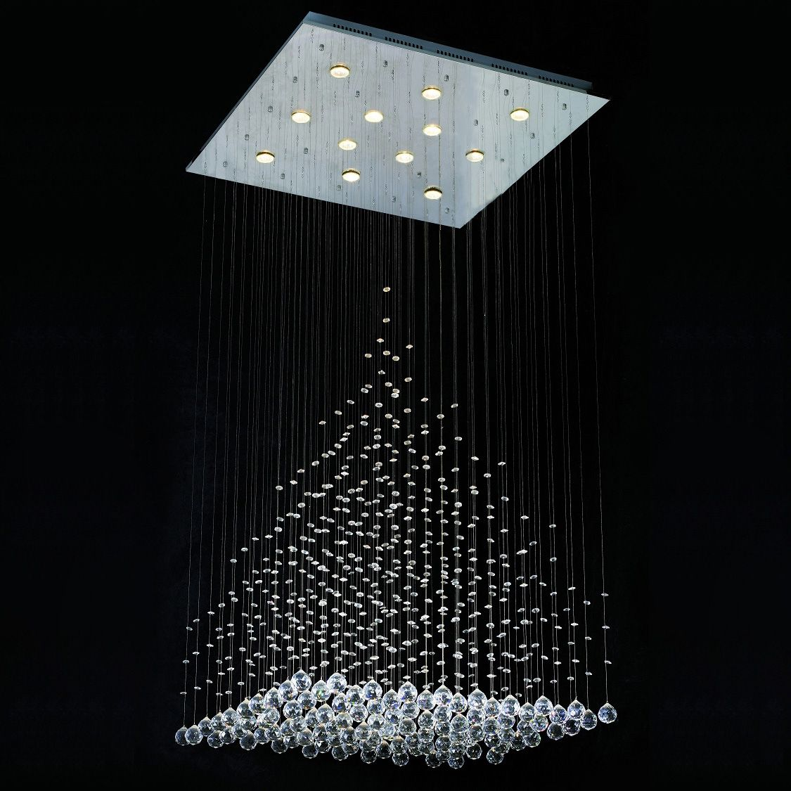 Modern crystal chandeliers crystals pinterest chandeliers modern crystal chandeliers arubaitofo Image collections