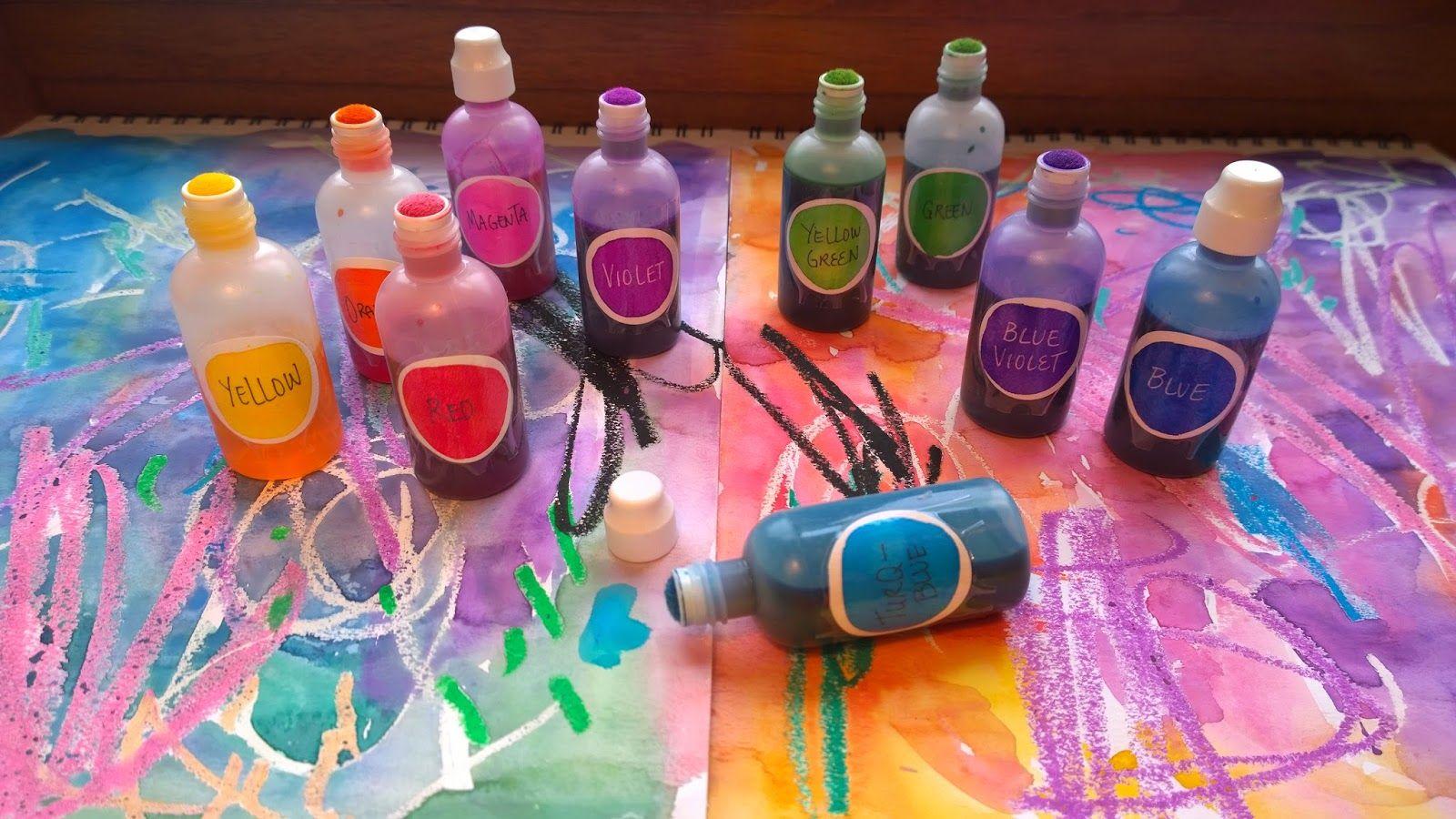 Dauber Painting Ideas Elementary Art