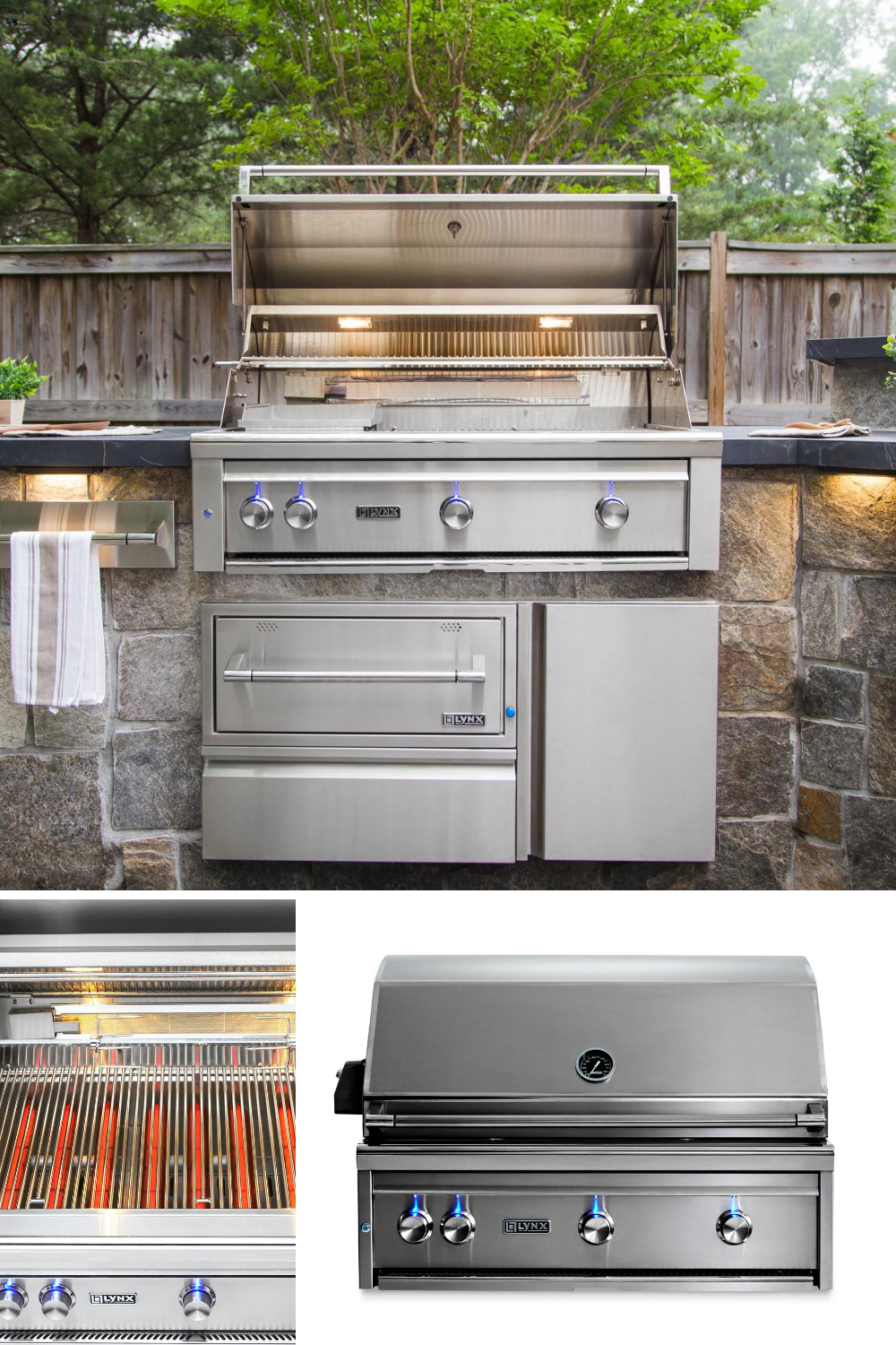 High Powered Outdoor Gas Grills In 2020 Outdoor Kitchen Appliances Covered Outdoor Kitchens Backyard Kitchen
