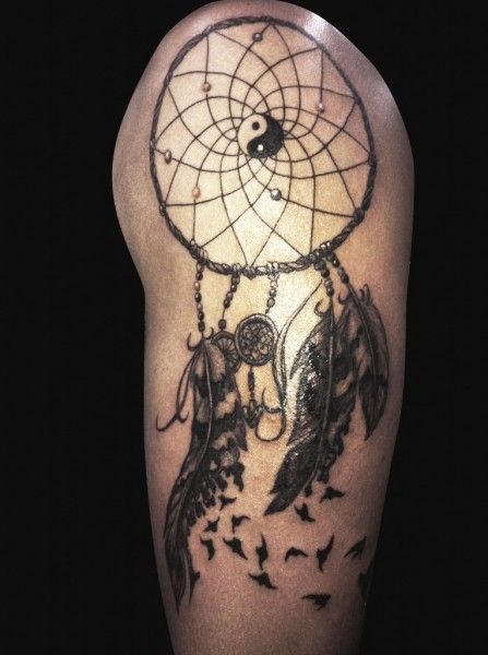 Dreamcatcher Tattoos For Men Arm Tatuagens Pinterest Tattoos Simple Dream Catcher Tattoo For Guys