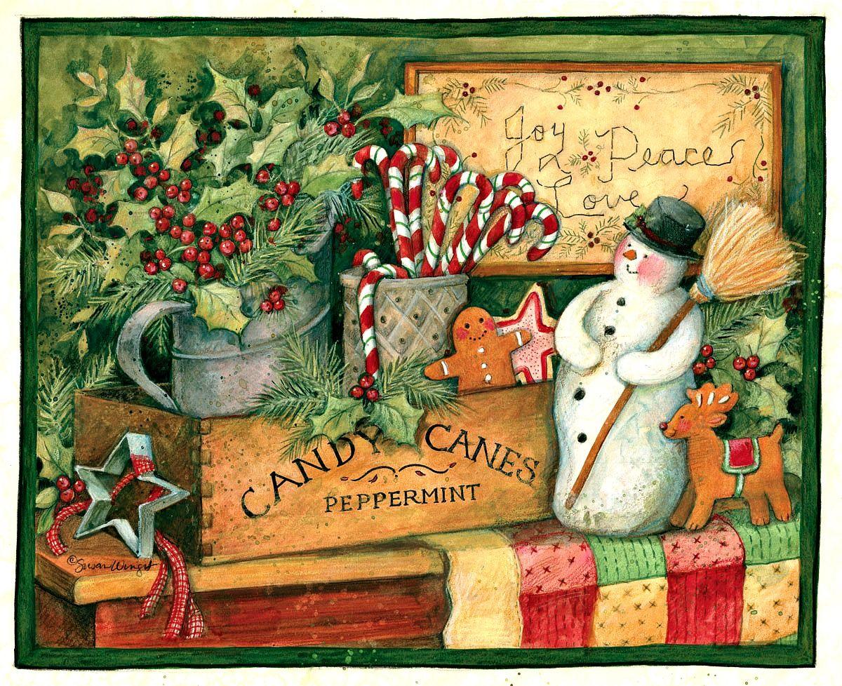 Susan Winget Christmas Art | www.topsimages.com
