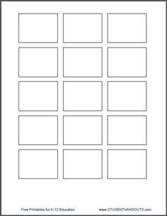 1 5 x 2 printing template for post it notes lesson plan
