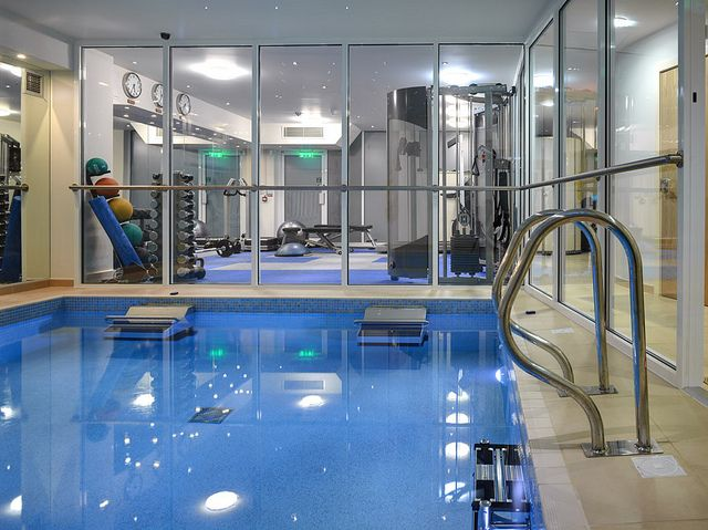 Dual Propulsion Endless Pool Swim Side By Side Indoor Pool Design Dream Home Gym Indoor Swimming Pool Design