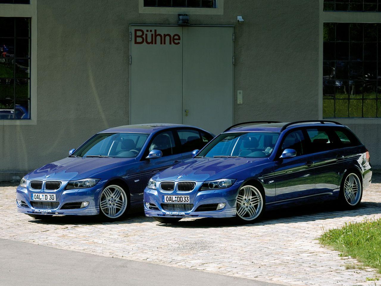 E91 alpina bmw d3 touring