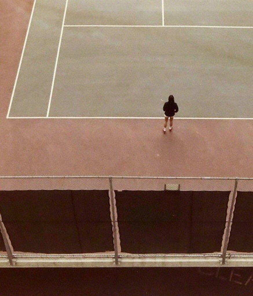 David Hockney Tennis Court 1973 David Hockney Tennis Court Hockney