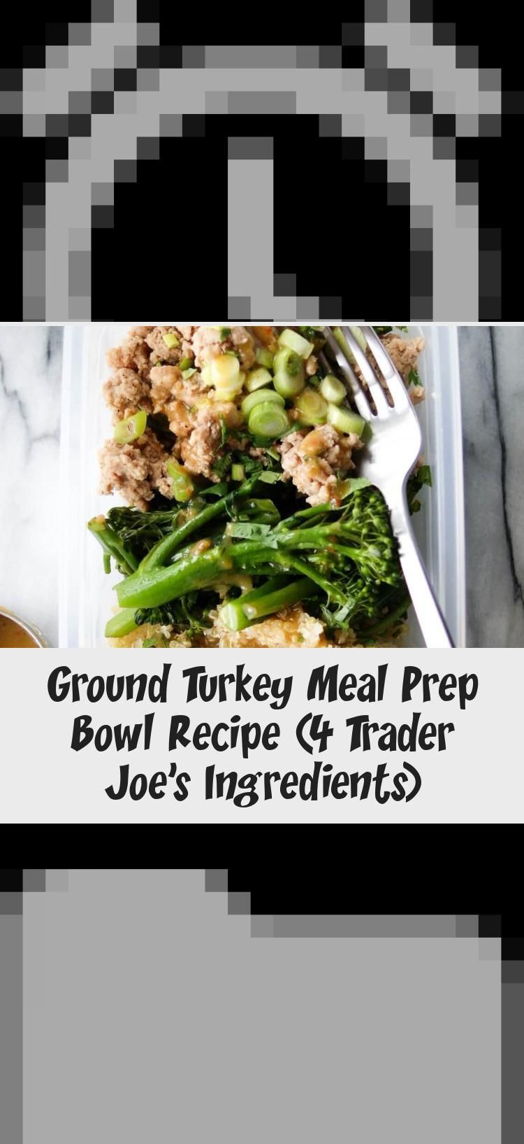 Trader Joes Ground Turkey Meal Prep Bowl Recipe  Looking for some trader joes meal prep ideas This ground turkey meal prep bowl recipe is so EASY  HEALTHY and takes just...