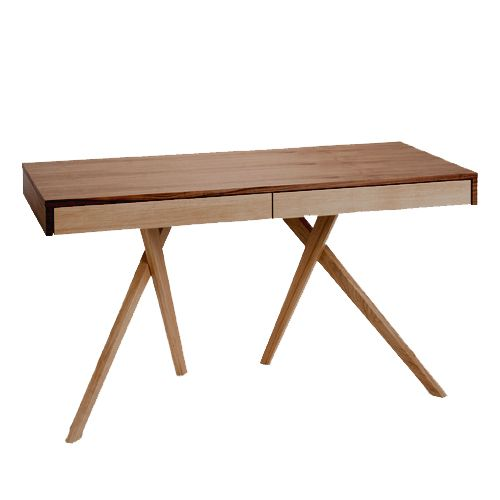 cute stance! legs crossed desk by steuart padwick | maison, Mobel ideea