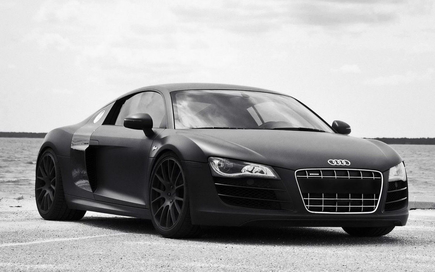 Audi R8 2016 Black Full Overview Picture | Cars | Pinterest | Audi