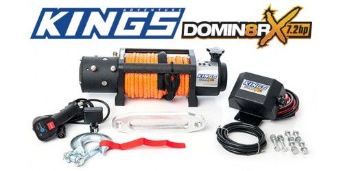 Domin8r X 12 000lb Winch With Rope Pre Order For Late November Delivery Wireless Controller Rope Wire Winch