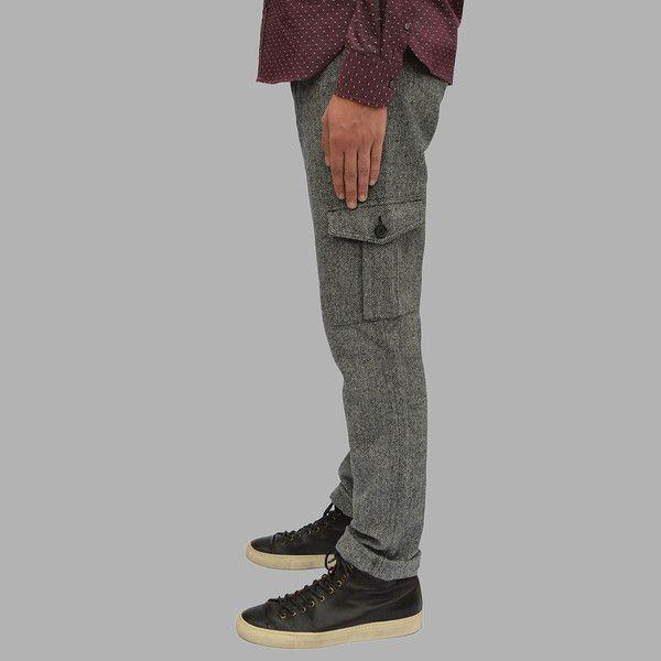 #Grey #Herringbone #Wool #Cargo #Pant #AW15 #Outclass #Mens #Fashion #Toronto #Style #MadeInCanada #Menswear