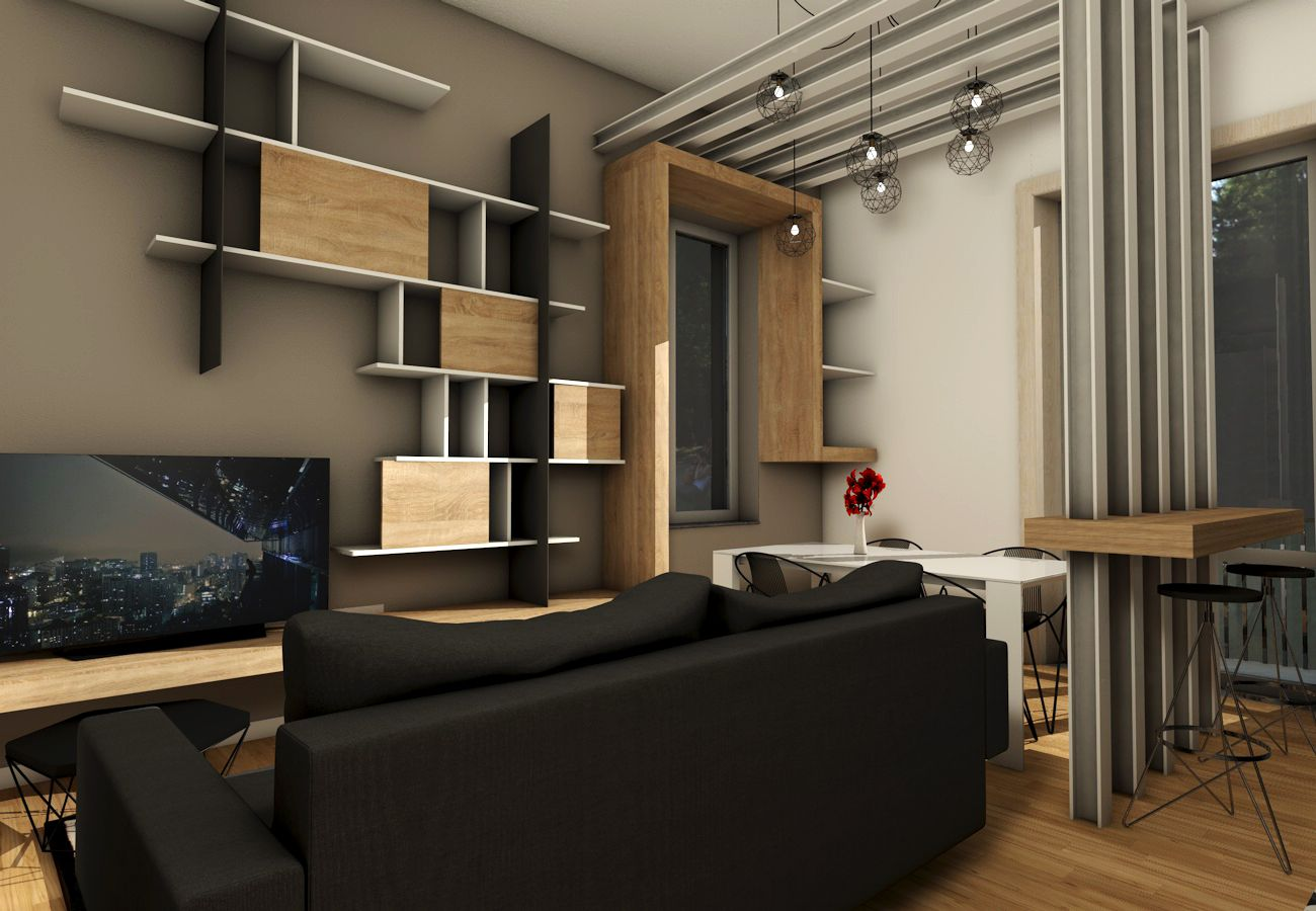 design di interni, arredi su misura, progettazione