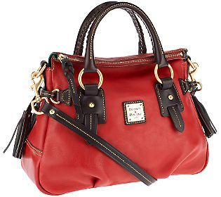 Dooney & Bourke Florentine Leather Small Stanwich Satchel
