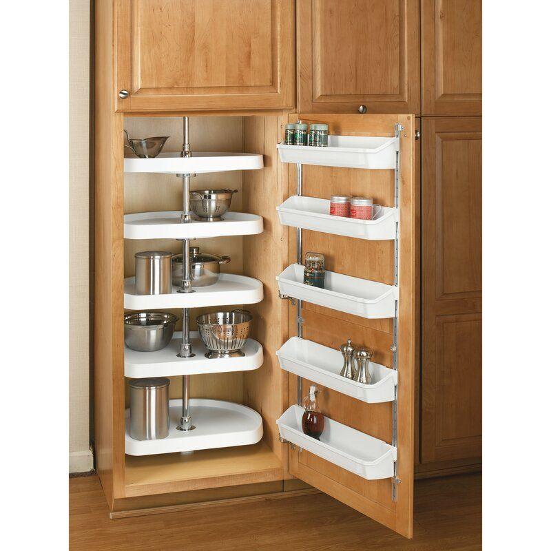 Rev A Shelf Cabinet Door Pull Out Pantry Wayfair In 2020 Door Storage Kitchen Storage Kitchen Layout