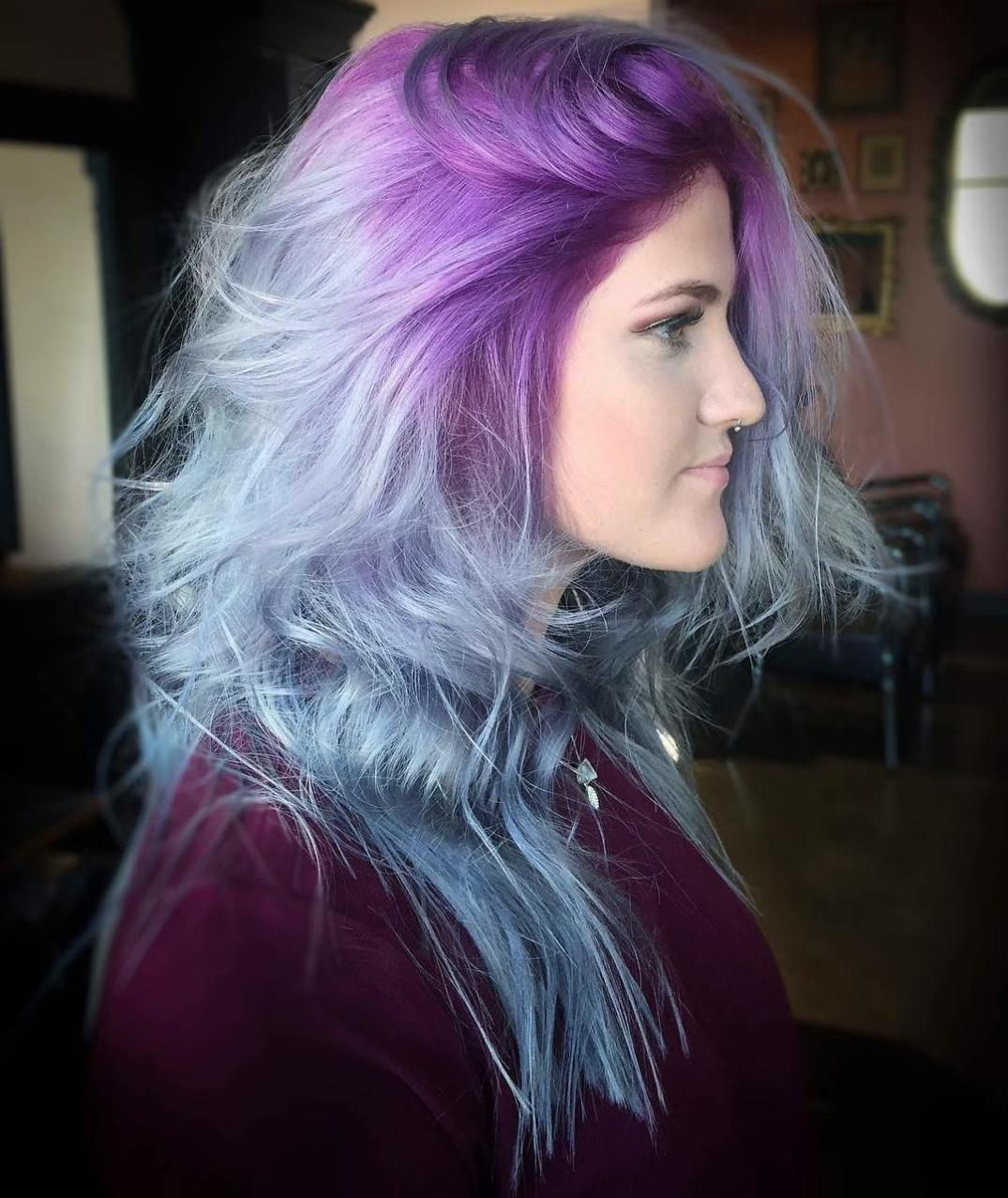 The prettiest pastel purple hair ideas pastel blue hair pastel
