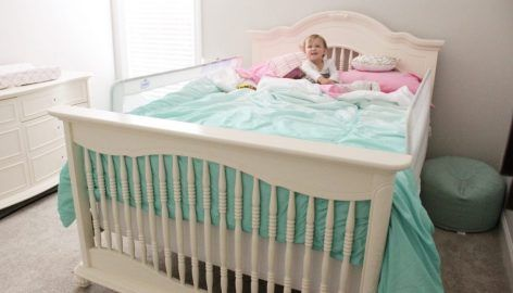 The Transition from a Crib to a Twin Bed   Bed, Cribs ...