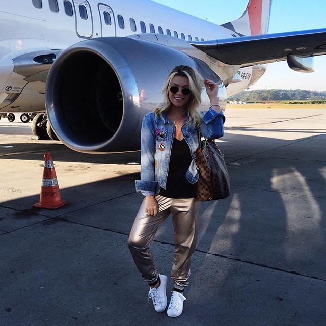 SP ➡️ SSA... ✈️ | estreando minha calça comfy e super estilosa da @loubucca 💙…