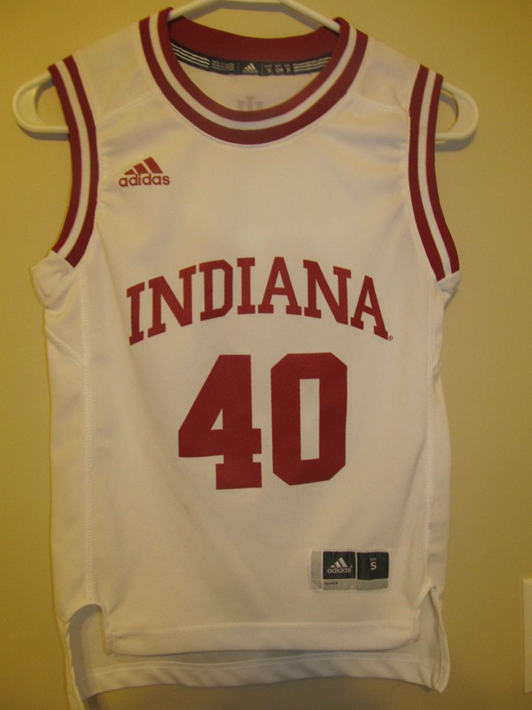 brand new 4dac4 ea526 Indiana Hoosiers Basketball jersey - Adidas Youth small ...