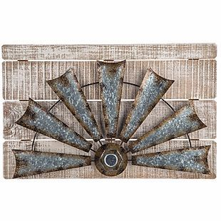 Hobby Lobby: 50% Off Farmhouse Decor Windmill wall decor