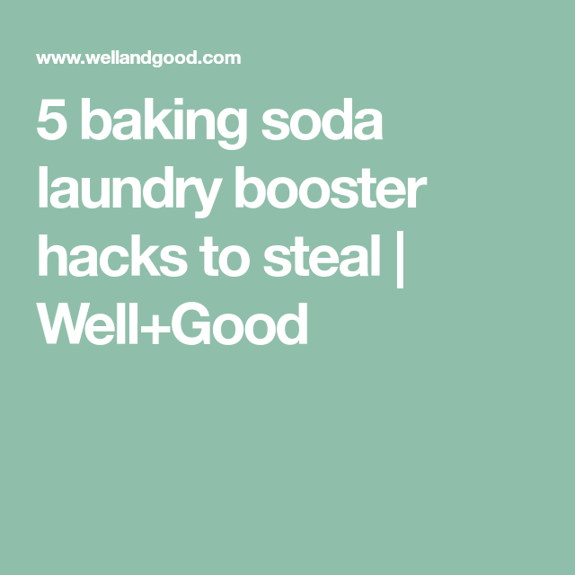 5 Baking Soda Laundry Booster Hacks To Steal With Images